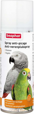 Espray anti picaje o arranque de plumas para todos los pájaros