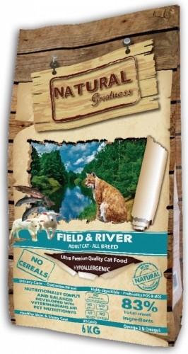 NATURAL GREATNESS Field & River Sans Céréales pour Chat Adulte