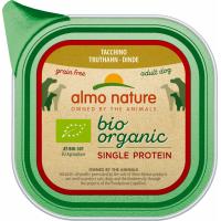 Pâtée ALMO NATURE Bio Organic Single Proteine 150g pour Chien Adulte - 4 saveurs au choix