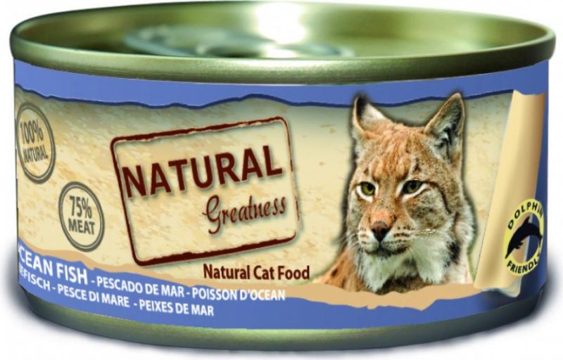 Nassfutter NATURAL GREATNESS Classic 70g für Adult Katzen & Kitten - 4 Geschmacksrichtungen