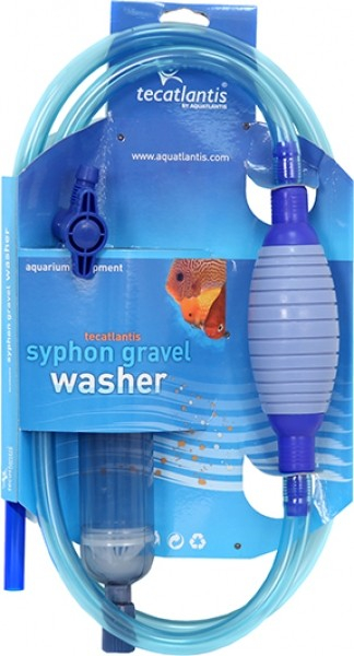 Tecatlantis Syphon Gravel Washer avec robinet d'arrêt
