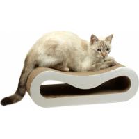 Griffoir en carton Zolia Arwen avec herbe à chat incluse