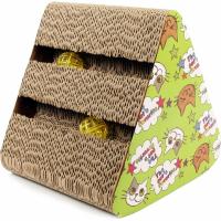 Zolia Naboo Spielstation aus Karton für Katzen