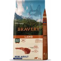 BRAVERY Adult Mini Sans Céréales Agneau pour Chien de petite taille
