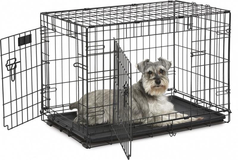 Cage en métal pour chien