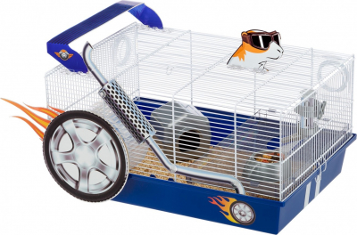 Cage pour hamster Dragster