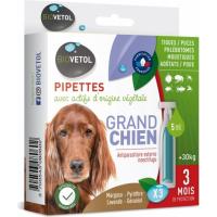 Pipettes anti-parasites naturelles pour chiens