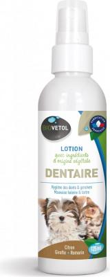 Biovetol Lotion dentaire pour chiens et chats