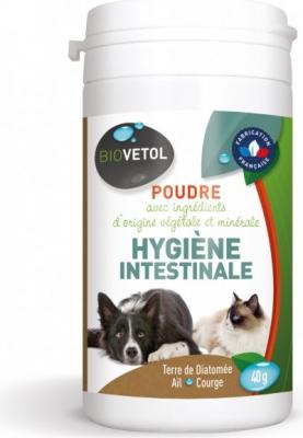Biovetol Poudre hygiène intestinale pour chiens et chats