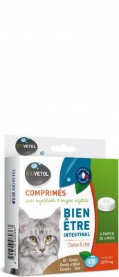 Biovetol Comprimés Bien-être intestinal pour chat et chaton
