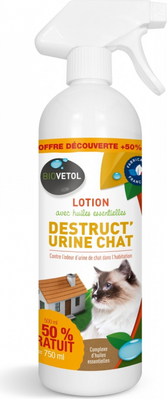 Biovetol Lotion Destruct'Urine Katzen