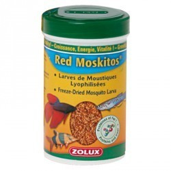 Red moskitos 100ml pour betta autre nourriture pour poisson for Nourriture poisson betta