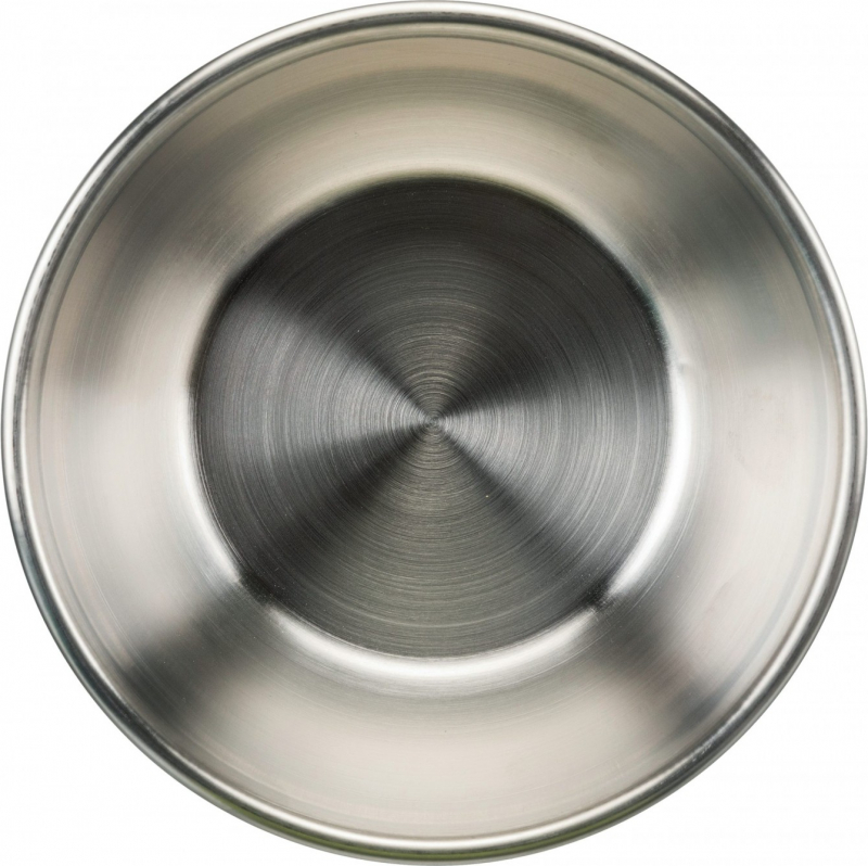 Ecuelle en acier inox Fresh Feed avec couvercle