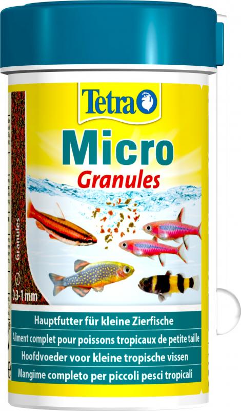 Tetra Micro Granulés Nourriture pour petit poisson