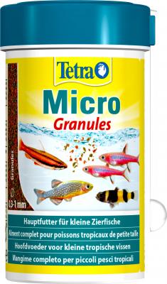 Tetra MicroFood, granulés pour poisson 100 ml