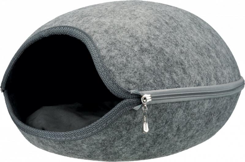 niche d 39 int rieur et abri douillet luna pour chien et chat. Black Bedroom Furniture Sets. Home Design Ideas