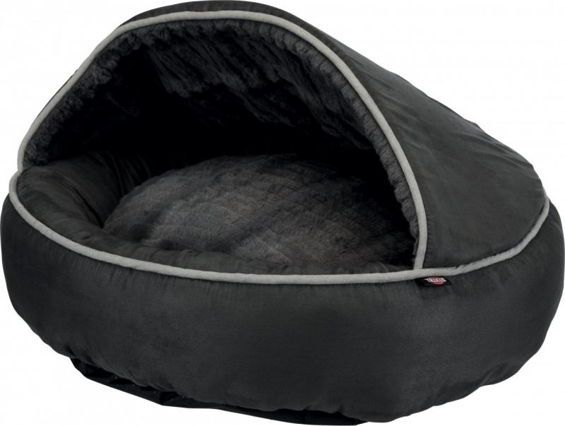 niche d 39 int rieur et abri douillet timber pour chien. Black Bedroom Furniture Sets. Home Design Ideas