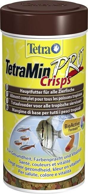 Comida en copos para peces Tetra tetramin crisps 250 ml