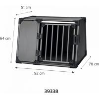 Box de transport pour chien en aluminium