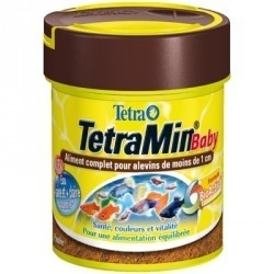Nourriture pour alevins poissons tetra tetramin baby 66 ml for Donner poisson