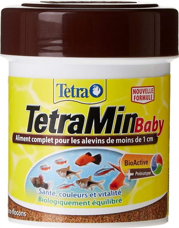 Tetra Tetramin Baby Nourriture pour alevins