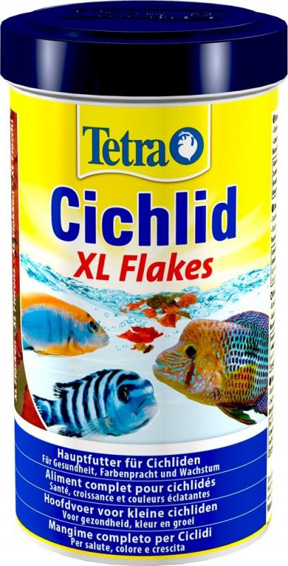 Tetra Cichlid XL Flakes
