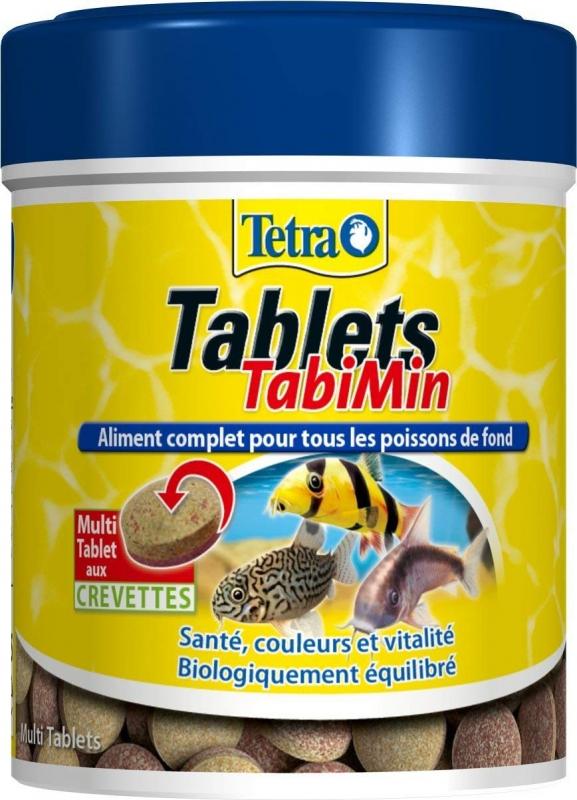Tetra Tablets TabiMin Nourriture complète poissons de fond