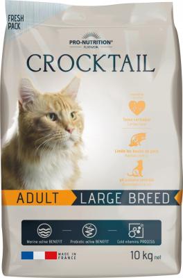PRO-NUTRITION Flatazor CROCKTAIL Adult Large Breed pour Chat Adulte de Grande Taille