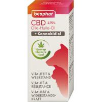 Aceite de CBD (cannabidiol), complemento alimentario vitalidad y resistencia