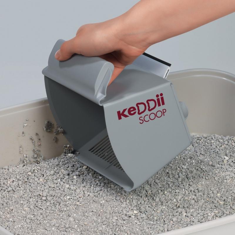 KeDDii Scoop, Pala para arena de gato aglomerante