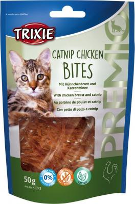 Friandises PREMIO Catnip Chicken Bites pour Chat Adulte