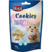 Friandises Cookies au Saumon et Catnip pour Chat Adulte