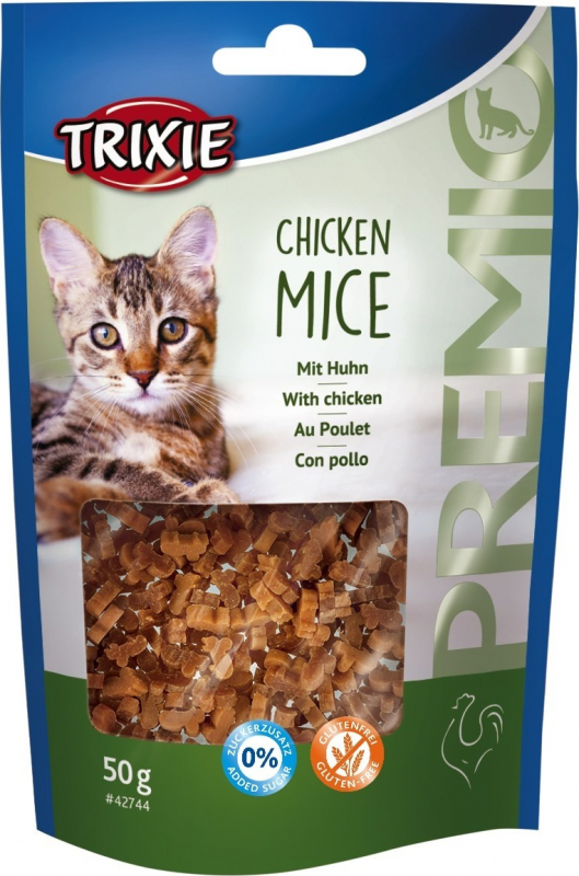 Friandises PREMIO Chicken Mice pour Chat Adulte