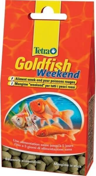 TETRA GOLDFISH WEEKEND 40 STICKS