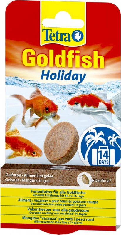 Tetra Goldfish Holiday Nourriture vacances pour poissons rouge