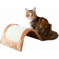 Tiragraffi onda Wavy per gatto - grigio/naturale