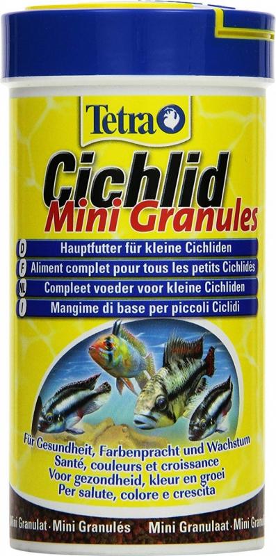 Tetra Cichlid Mini Granules pour Cichlidés