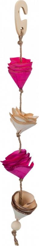 Jouet naturel en corde de sisal - idéal pour perruches