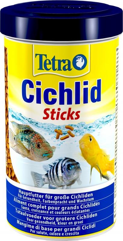 Tetra Cichlid Sticks Aliment complet pour tous les grands Cichlidés