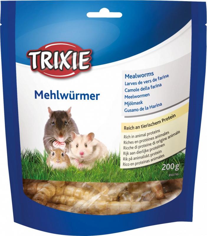 Larvas de vermes de farinha secas para roedores