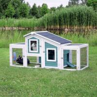 Natura Clapier avec 2 enclos pour petits animaux