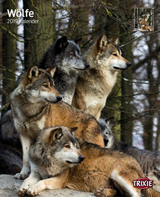 Calendrier 2019 Loups