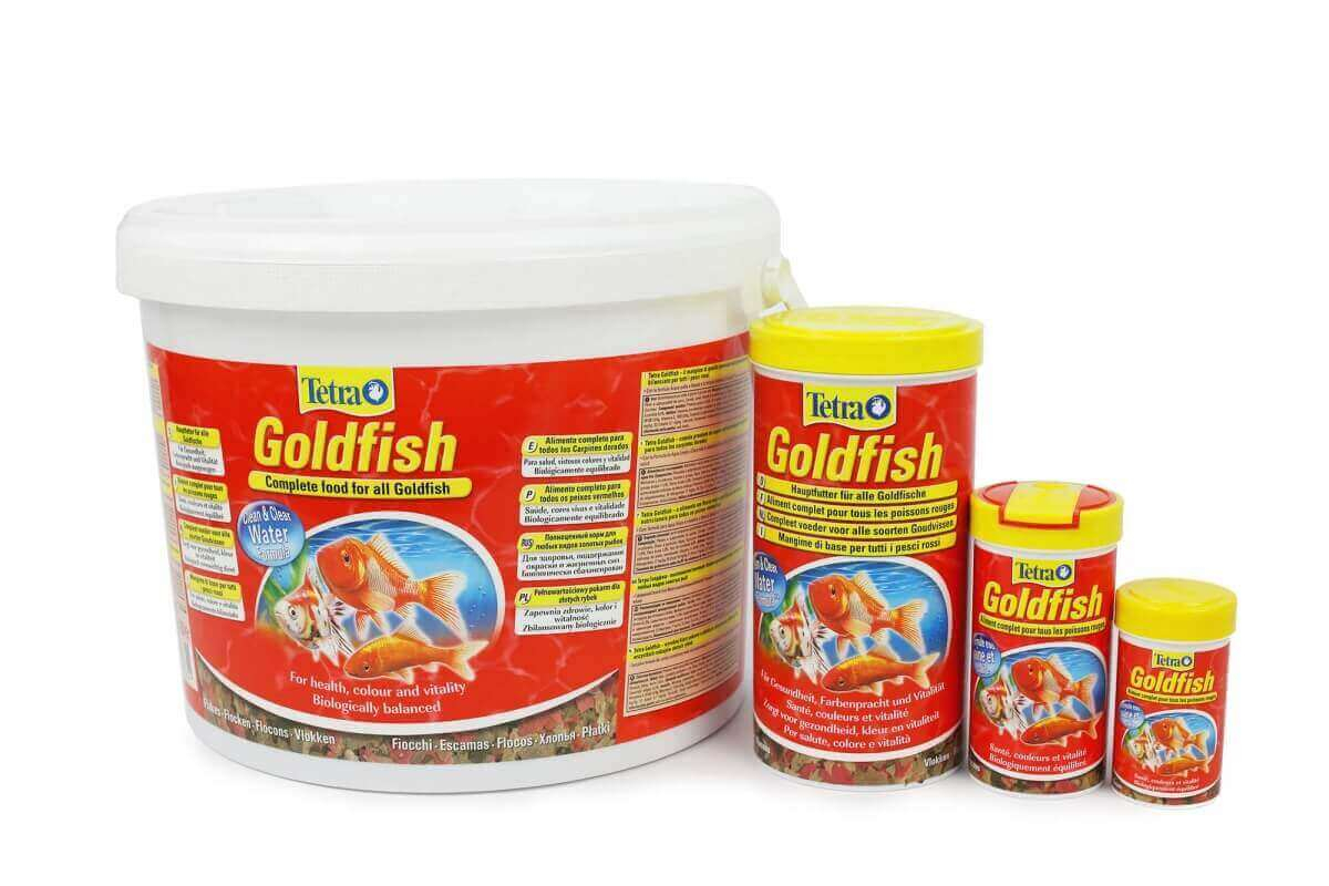 Tetra Goldfish FLOCONS poissons rouges - de 100ml à 10L_0