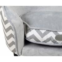 Canapé pour chien ou chat Zolia - avec pochette de rangement - 67cm