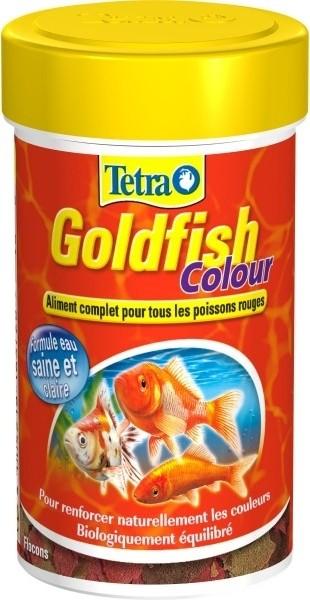 Tetra Goldfish Color Colour flocons poissons rouges