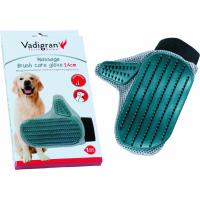 Gant de soin massage pour chien