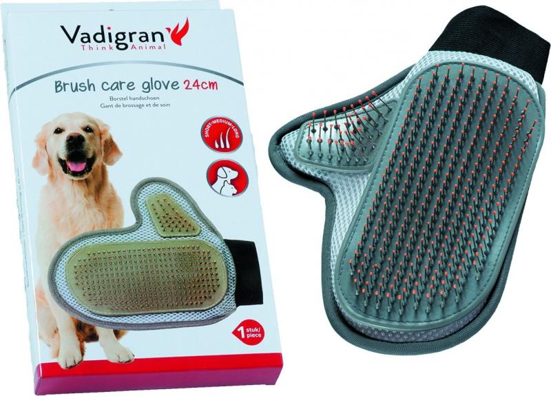 Gant de soin brosse pour chien