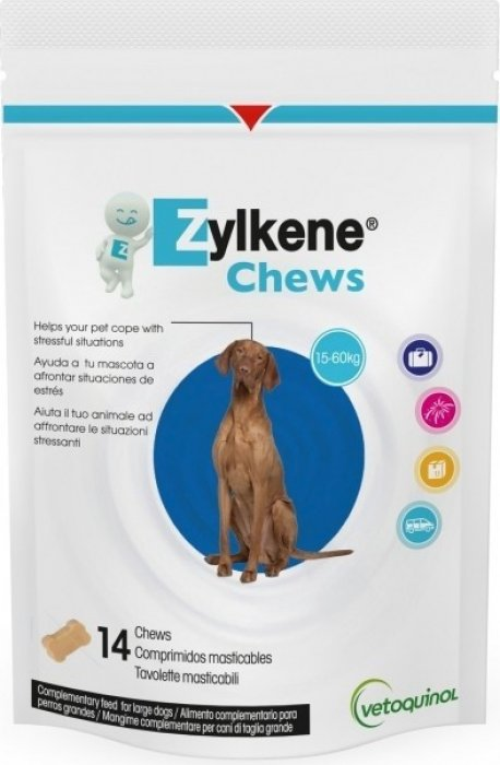 Vetoquinol Zylkene Chews pour chien et chat