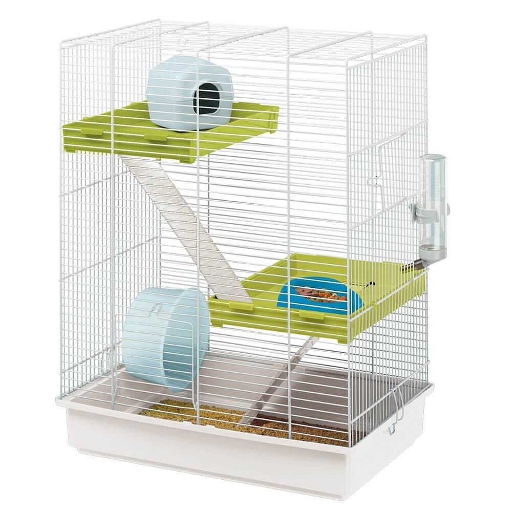 cage pour petit rongeur hamster tris cage hamster. Black Bedroom Furniture Sets. Home Design Ideas