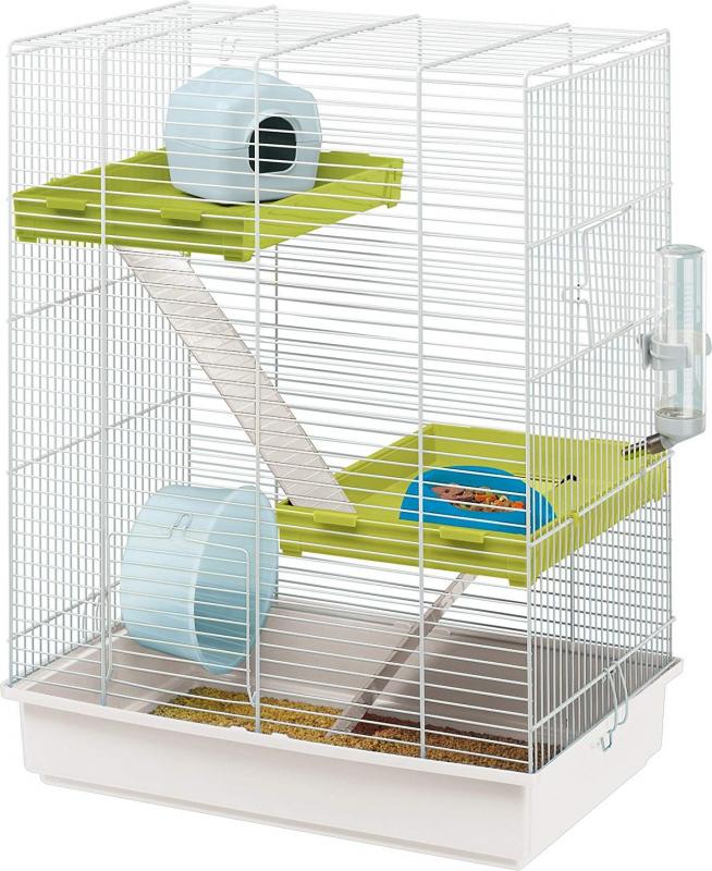 Cage pour petit rongeur - 46 cm - Hamster Tris